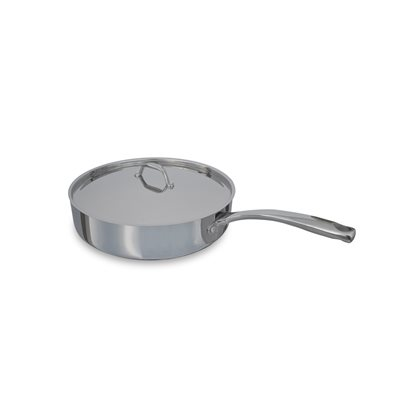 """PAN, EVERYDAY, 5 QT, INDUCTION, 12"""", WITH LID"""